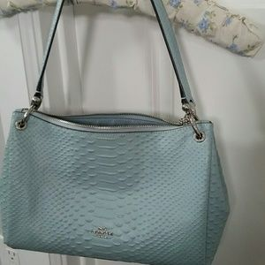 Coach Leather bag. Medium/ small.